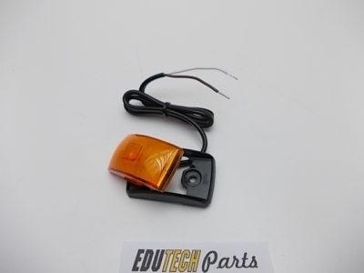 oranje led zijmarkering 12V 24V vierkant