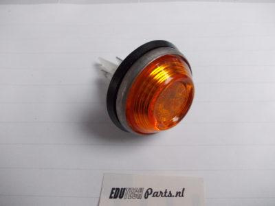 oranje lamp rond