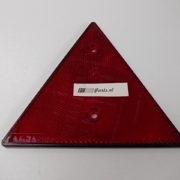 Reflector rood driehoekig