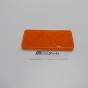 Oranje reflector rechthoekig 95x44m