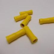 rondstekkerhuls geel 5mm