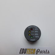 battery accu voltmeter dashboard 12volt 24 volt
