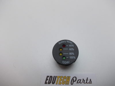 battery accu voltmeter dashboard 12volt 24 volt