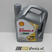 Motorolie trekker shovel shell rimula R4l 15w40